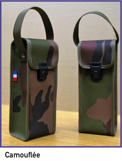 Sacoche souple camouflée qualité armée